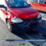 В Витебске столкнулись две легковушки. Травмы получил трехлетний пассажир